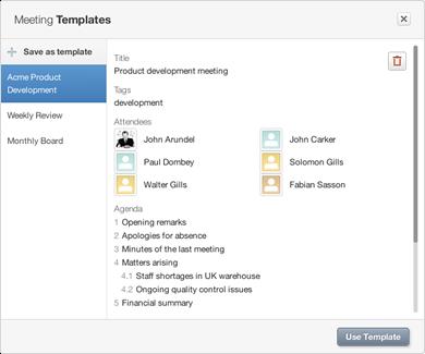 how to set a meeting agenda